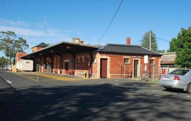 WANGARATTA RAILWAY STATION COMPLEX SOHE 2008