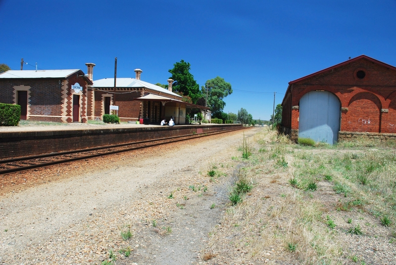 CHILTERN RAILWAY STATION AND GOODS SHED SOHE 2008