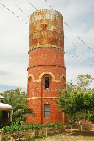 FORMER ELMORE WATER TOWER SOHE 2008