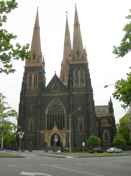ST PATRICKS CATHEDRAL PRECINCT SOHE 2008