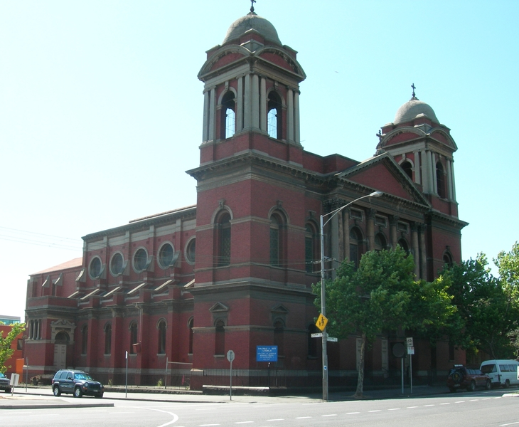 SACRED HEART CATHOLIC CHURCH SOHE 2008
