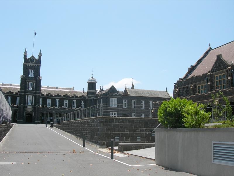 MELBOURNE GRAMMAR SCHOOL SOHE 2008
