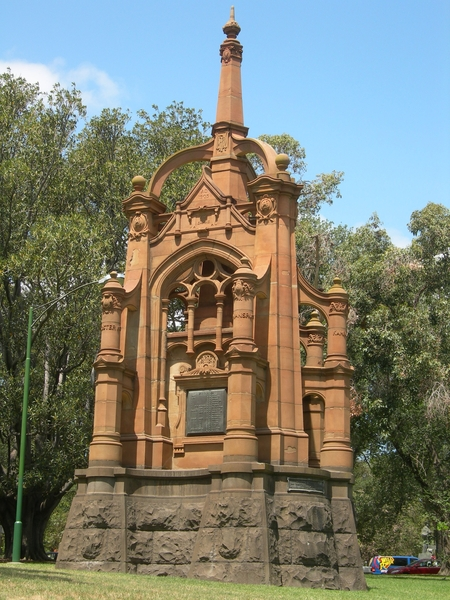 BOER WAR MONUMENT SOHE 2008