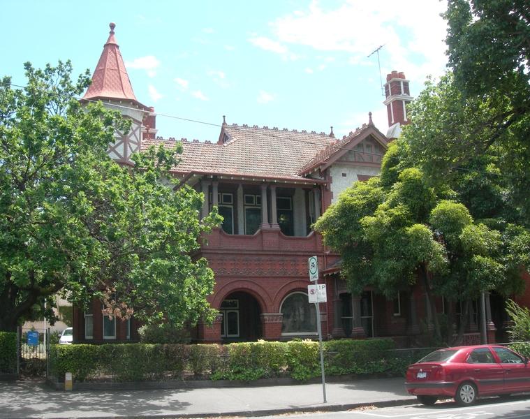 ST HILDAS HOUSE SOHE 2008