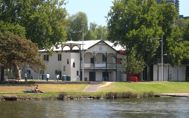 MELBOURNE UNIVERSITY BOAT CLUB SHED SOHE 2008