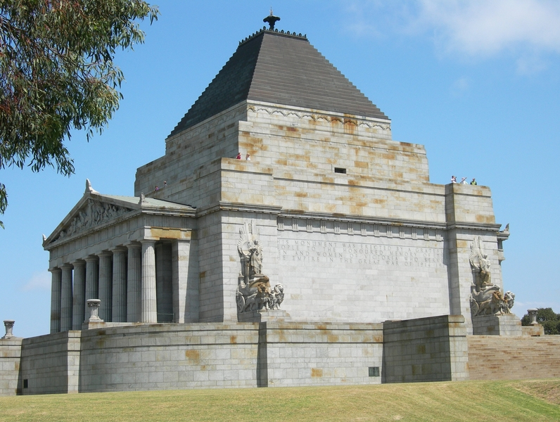 SHRINE OF REMEMBRANCE SOHE 2008