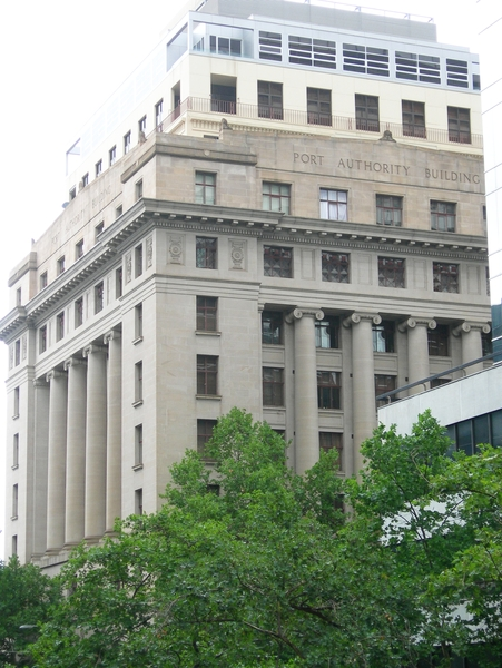 FORMER PORT OF MELBOURNE AUTHORITY BUILDING SOHE 2008