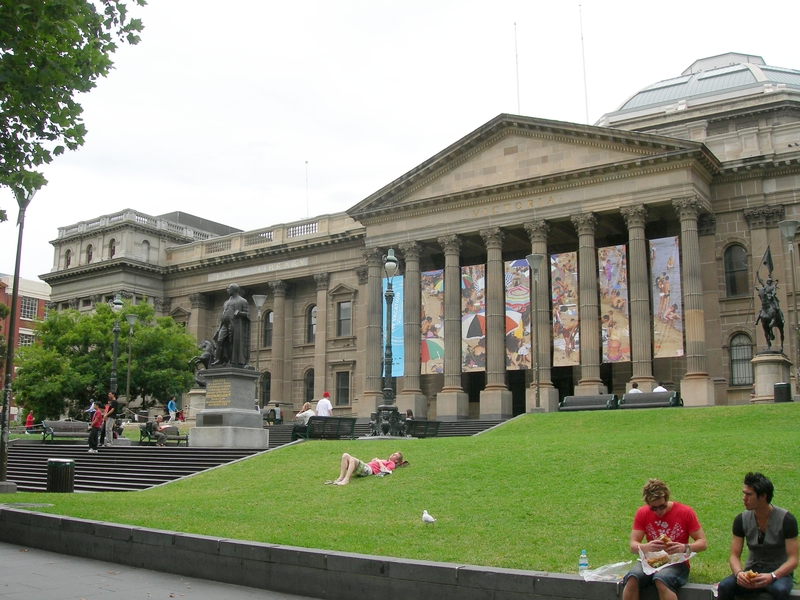 STATE LIBRARY OF VICTORIA SOHE 2008