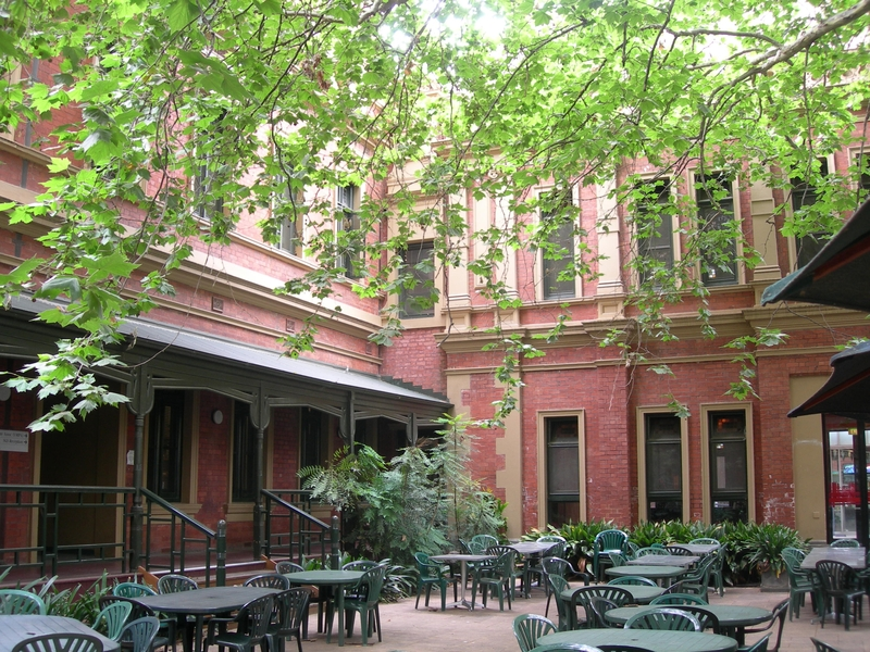1888 BUILDING, PART OF FORMER MELBOURNE TEACHERS COLLEGE SOHE 2008