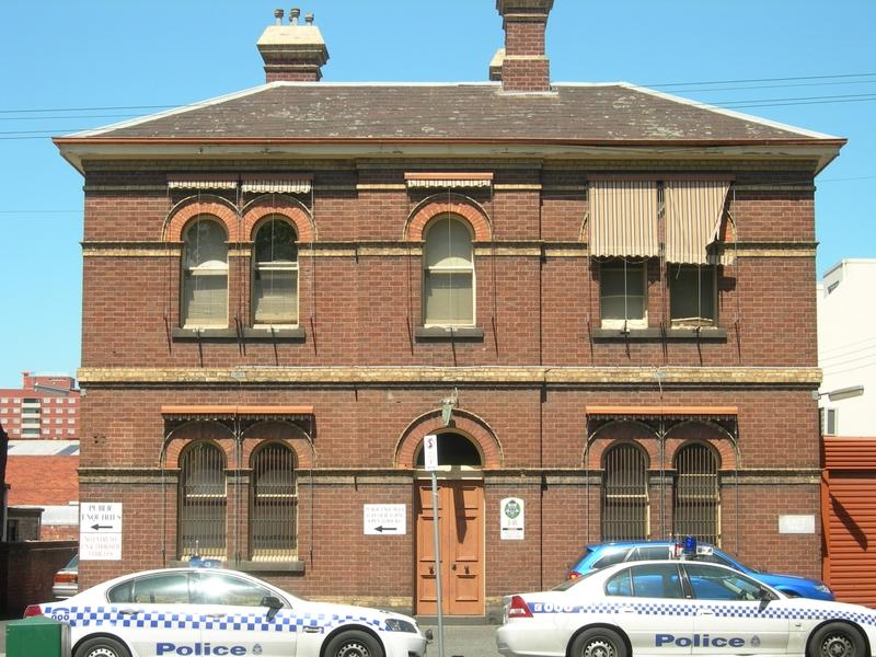 POLICE STATION SOHE 2008