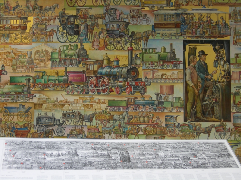 THE HISTORY OF TRANSPORT MURAL SOHE 2008