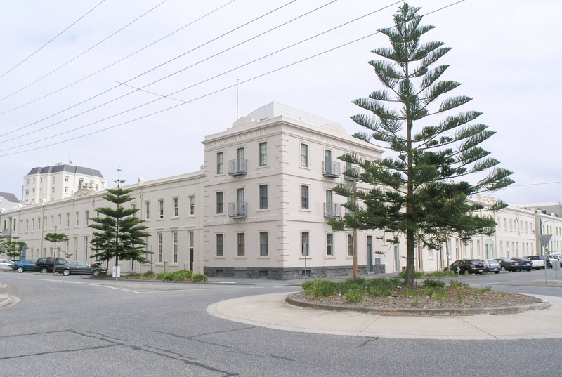 FORMER SWALLOW & ARIELL BISCUIT FACTORY SOHE 2008