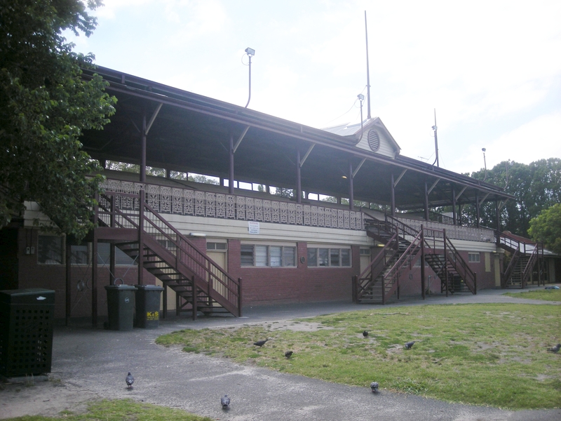 FITZROY CRICKET GROUND GRANDSTAND SOHE 2008