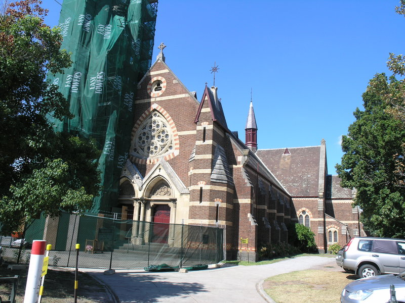 ST GEORGES UNITING CHURCH SOHE 2008