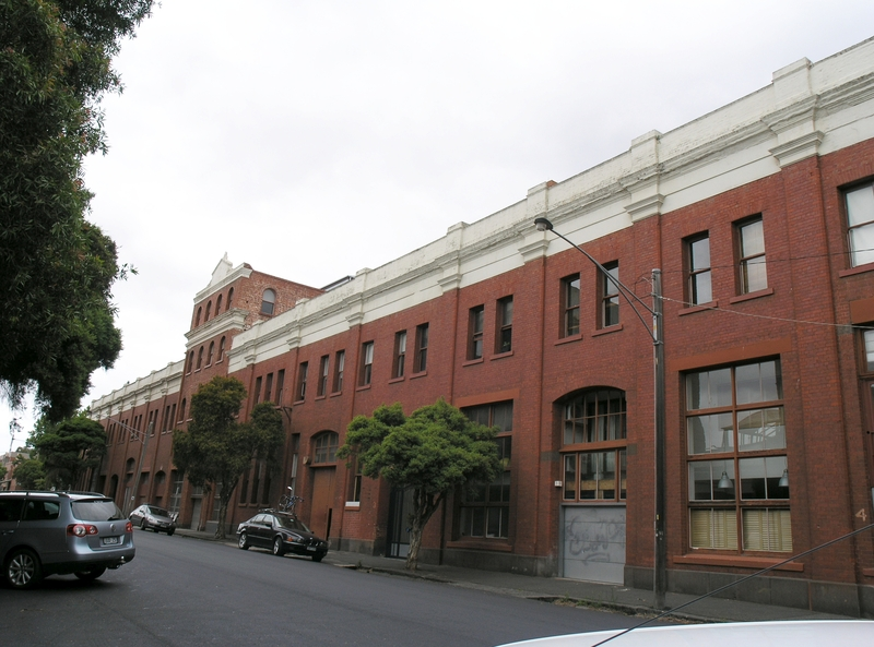 PART OF FORMER FOY AND GIBSON COMPLEX SOHE 2008