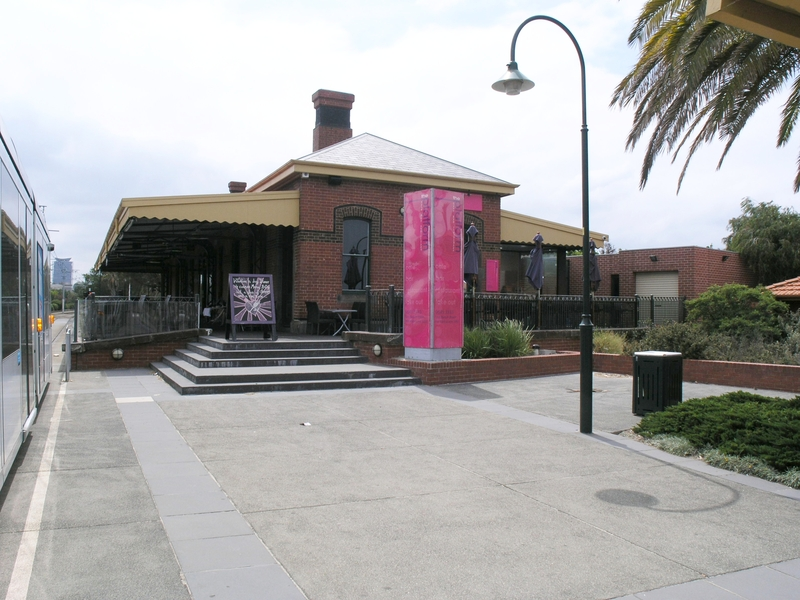 PORT MELBOURNE RAILWAY STATION SOHE 2008