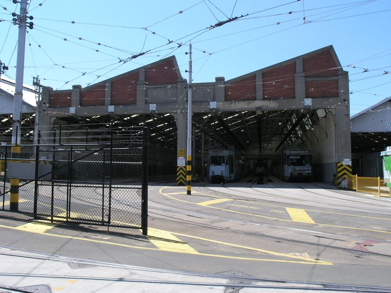 ESSENDON TRAMWAY DEPOT SOHE 2008