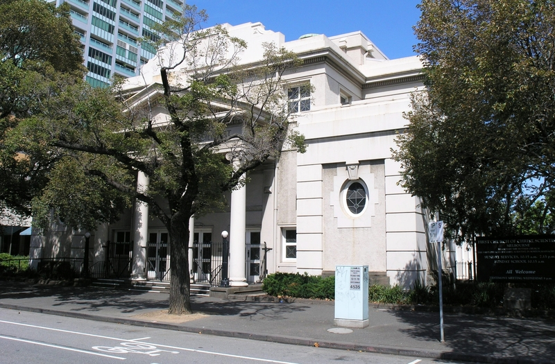 FIRST CHURCH OF CHRIST, SCIENTIST, MELBOURNE SOHE 2008