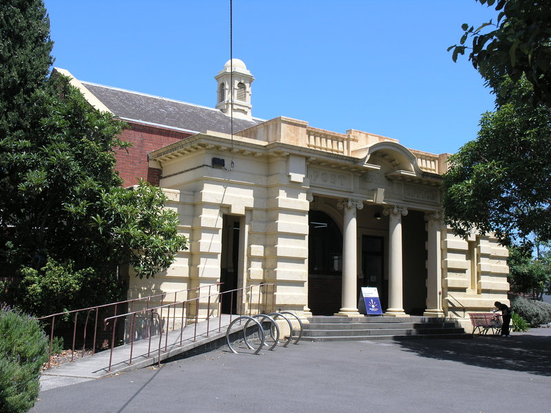 FORMER SOUTH MELBOURNE POST OFFICE SOHE 2008