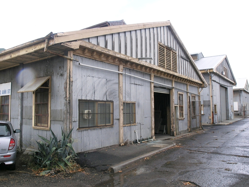 FORMER MELBOURNE HARBOUR TRUST WILLIAMSTOWN WORKSHOPS SOHE 2008
