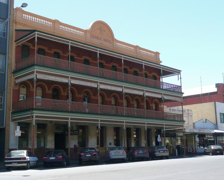 GEORGE HOTEL SOHE 2008