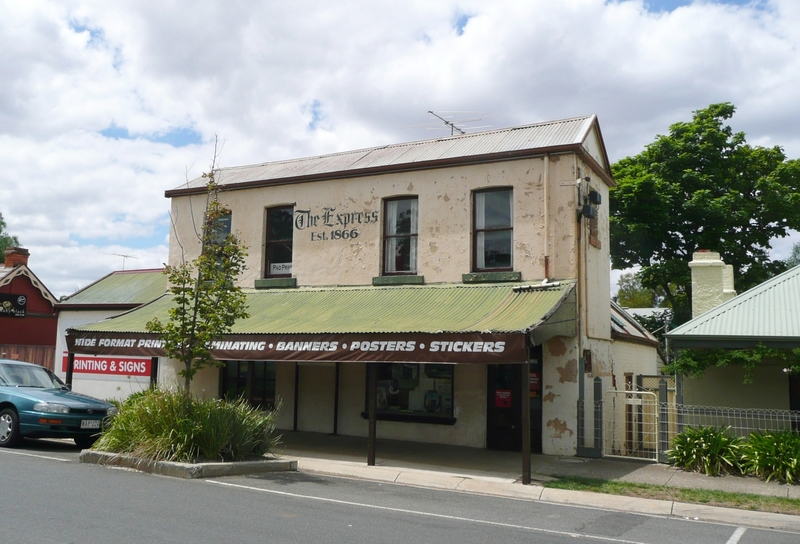 BACCHUS MARSH EXPRESS OFFICE AND PRINTING WORKS SOHE 2008