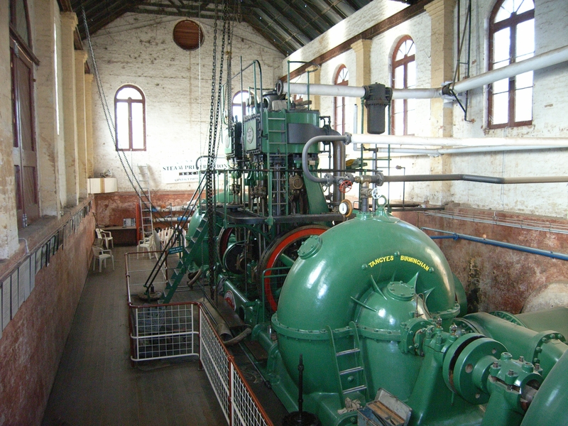 PSYCHE BEND PUMPING STATION SOHE 2008