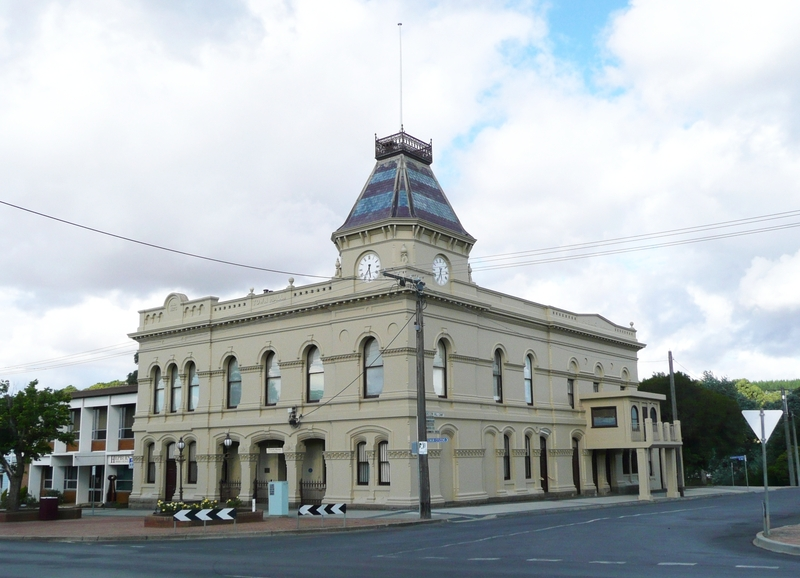 CRESWICK TOWN HALL AND FORMER MUNICIPAL OFFICES SOHE 2008