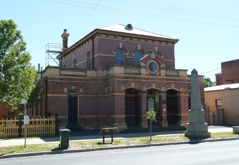 DUNOLLY TOWN HALL SOHE 2008