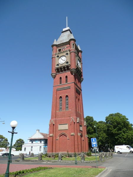 FINLAY AVENUE OF ELMS, MANIFOLD CLOCK TOWER AND PUBLIC MONUMENT PRECINCT SOHE 2008