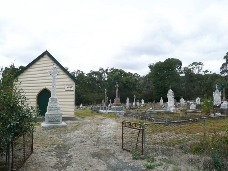 ST FRANCIS XAVIER CHAPEL AND CATHOLIC CEMETERY SOHE 2008