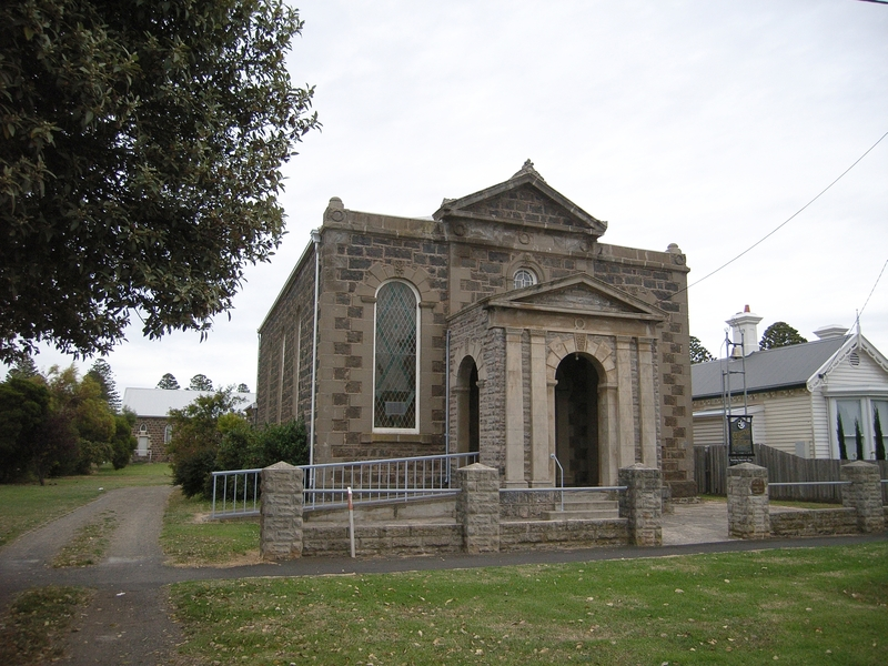FORMER WESLEYAN CHURCH, PARSONAGE AND COMMON SCHOOL SOHE 2008