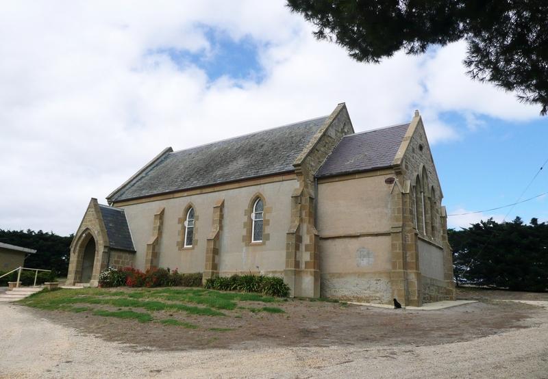 HOLY TRINITY ANGLICAN CHURCH AND VICARAGE SOHE 2008