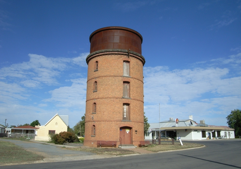 FORMER RAILWAY WATER TOWER SOHE 2008
