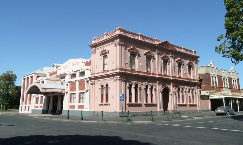 THEATRE ROYAL AND MECHANICS INSTITUTE SOHE 2008