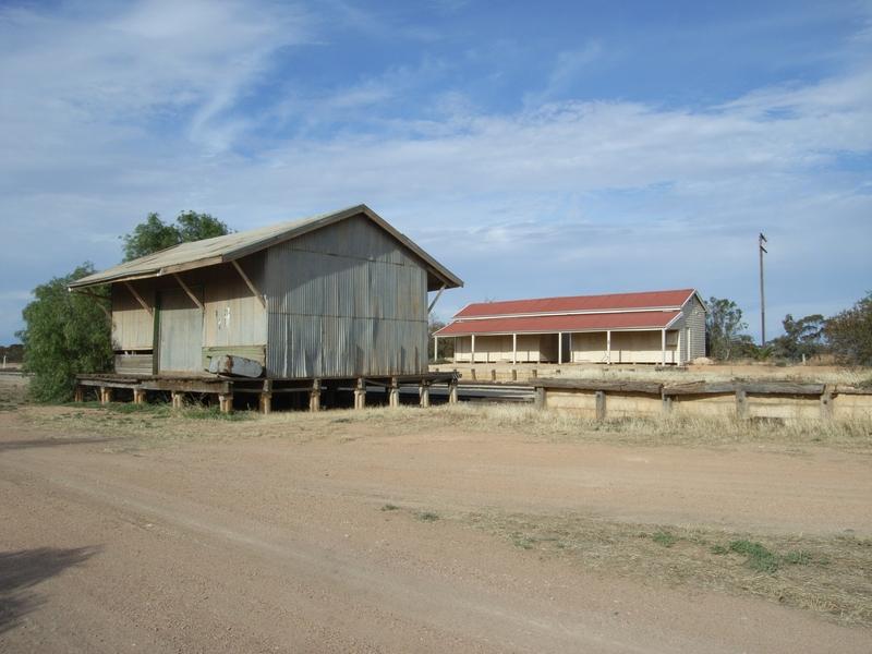 MANANGATANG RAILWAY STATION COMPLEX SOHE 2008