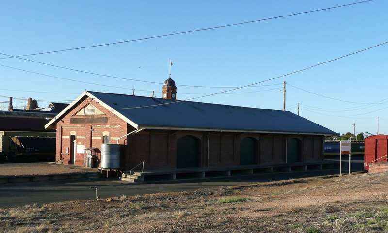 MARYBOROUGH RAILWAY STATION SOHE 2008
