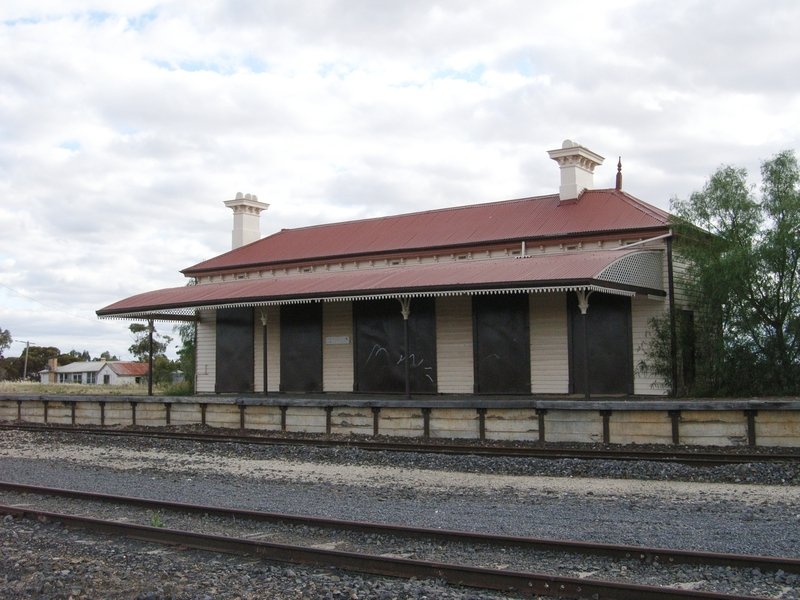 MINYIP RAILWAY STATION SOHE 2008