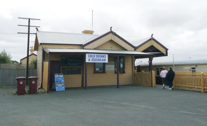 QUEENSCLIFF RAILWAY STATION SOHE 2008