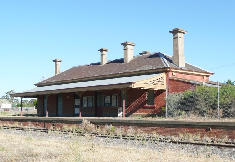 AVOCA RAILWAY STATION SOHE 2008