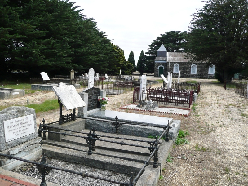 ST DAVID'S LUTHERAN CHURCH AND CEMETERY SOHE 2008