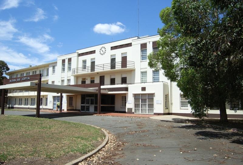FORMER MILDURA BASE HOSPITAL SOHE 2008