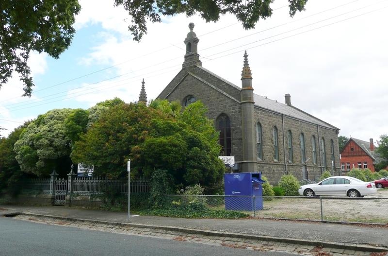 KYNETON ARTS CENTRE (FORMER CONGREGATIONAL CHURCH AND SUNDAY SCHOOL) SOHE 2008