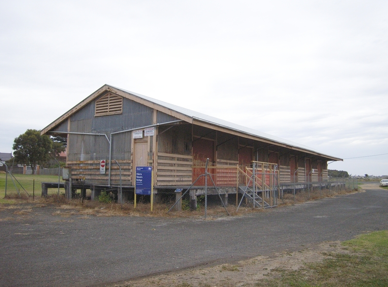 RAILWAY GOODS SHED SOHE 2008