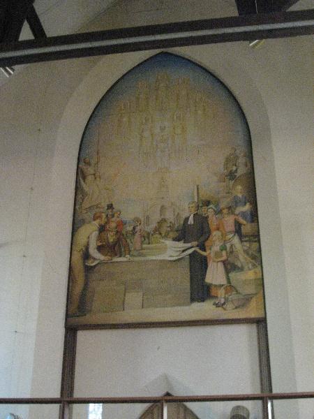 H0124 St Andrew Brighton Napier Waller Mural May 2009