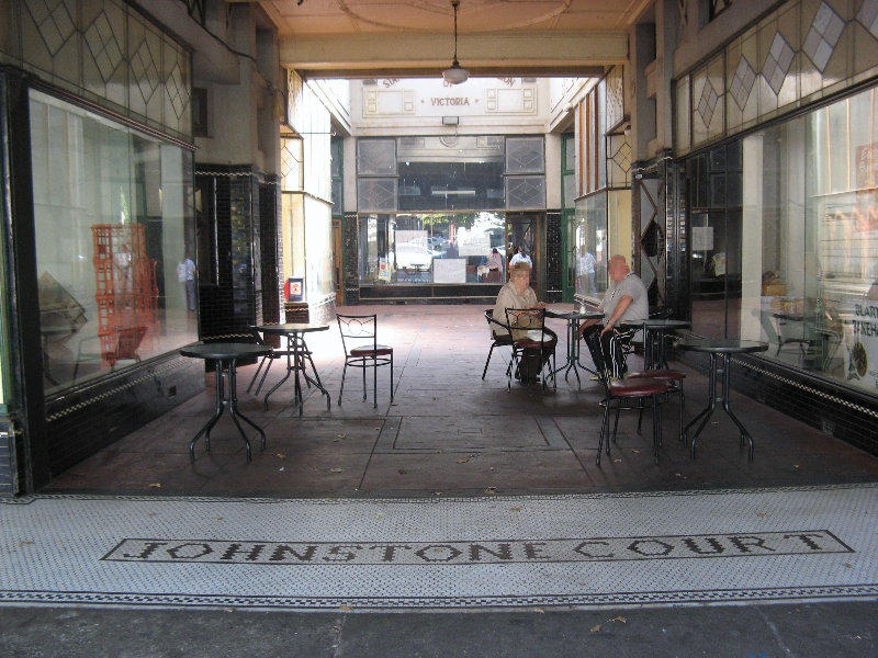 Johnstone Court, Terang, Arcade
