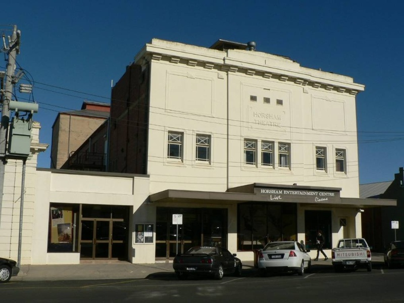 Horsham Theatre front elevation 2009