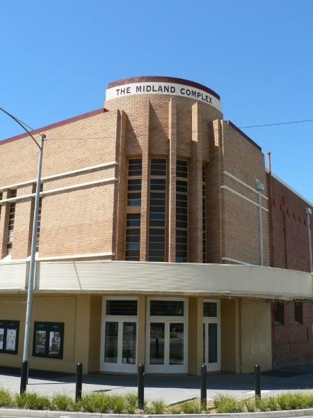 Midland Theatre Ararat front elevation 2009