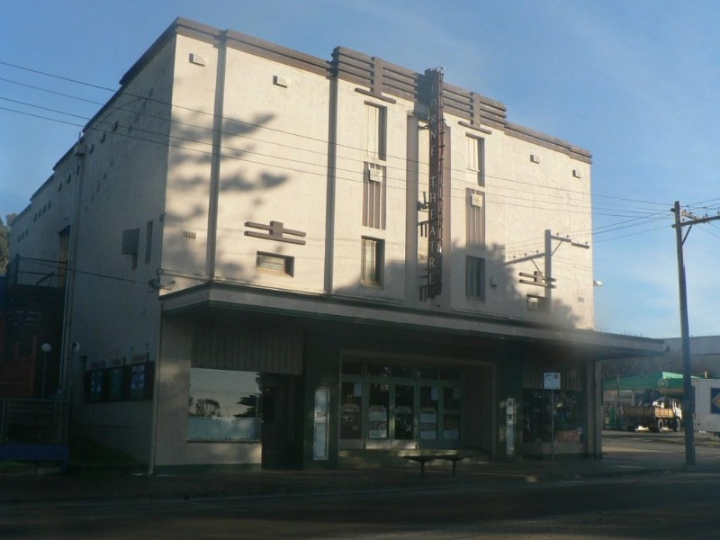 Lorne Cinema front elevation 2009