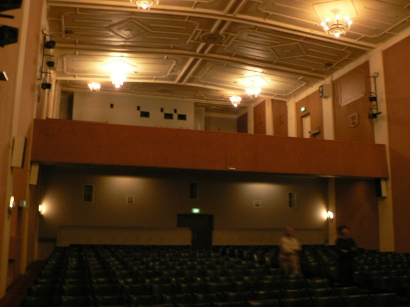 Horsham Theatre interior of auditorium 2009
